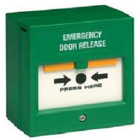 Emergency Edr Bgu Break Glass Fire Control Switch Box Exit