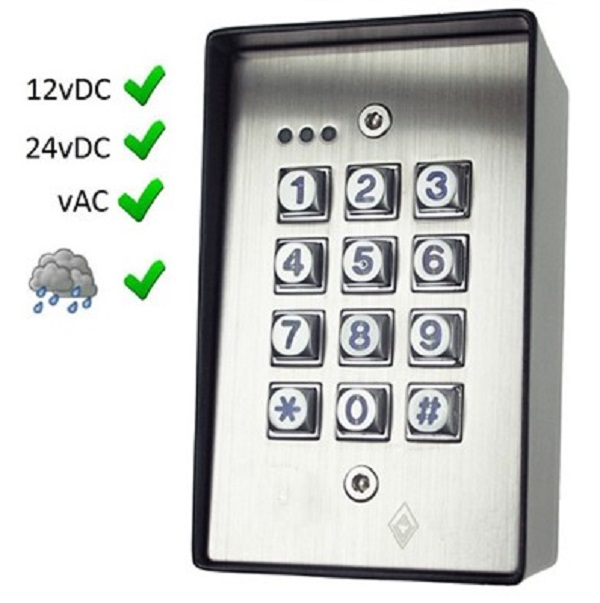 Surface Access Control Keypad Door Entry Systems