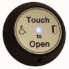 Wireless Round Touch Exit with Sounder Door Entry Systems