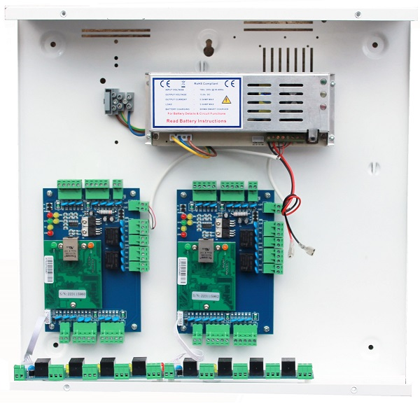 Four Door Access Control Board with 5amp PSU Door Entry Systems
