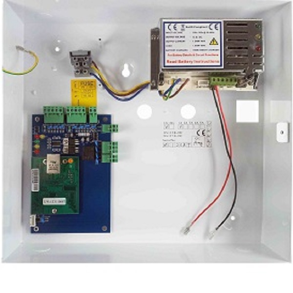 One Door Access Controller Board c/w Power Supply Door Entry Systems