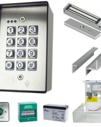 Complete Standalone Access Control keypad Kit Door Entry Systems