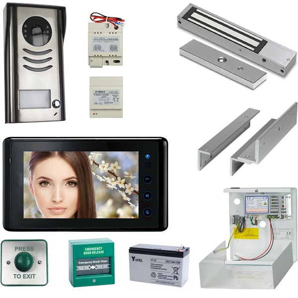 Complete 2wire Video Entry Kit Door Entry Systems