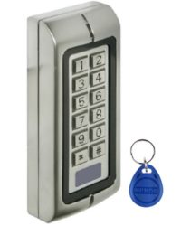 Weatherproof Access Keypad – Pin and/or Proximity Door Entry Systems