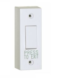 Plastic Architrave Exit Button / Narrow Request to Exit Door Entry Systems