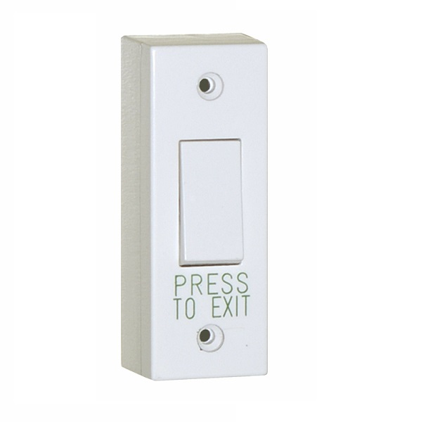 Plastic Architrave Exit Button / Narrow Request to Exit