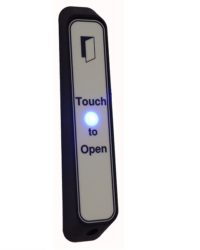Narrow Touch Exit with LED and Sounder