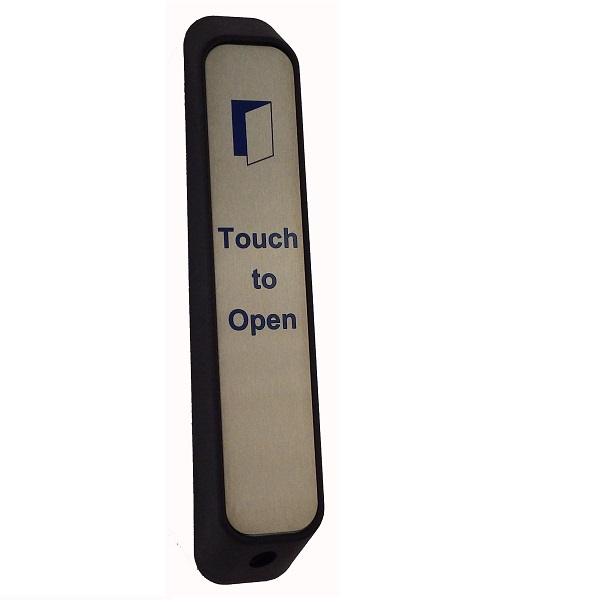 Wireless Narrow DDA Touch Exit with Sounder Door Entry Systems