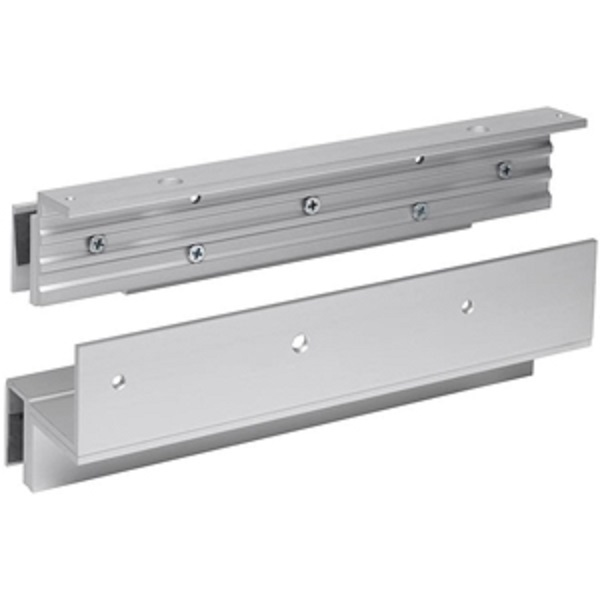 ZL brackets for Inward Glass Door with Mini Magnet Door Entry Systems