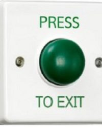 Green Dome Plastic Exit Button / Dome Request to Exit