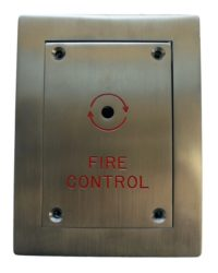 Flush Fireman Drop Switch Door Entry Systems