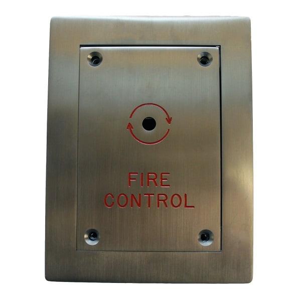 Flush Fireman Drop Switch Door Entry Systems