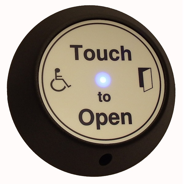 Wireless DDA Touch Exit with Wheelchair LOGO and LED and Sounder indication Door Entry Systems
