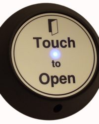 Round Touch Exit with LED and Sounder