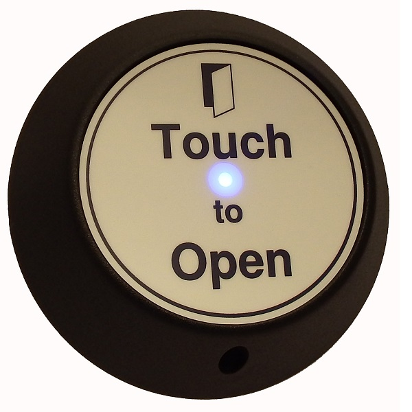 Round Touch Exit with LED and Sounder Door Entry Systems