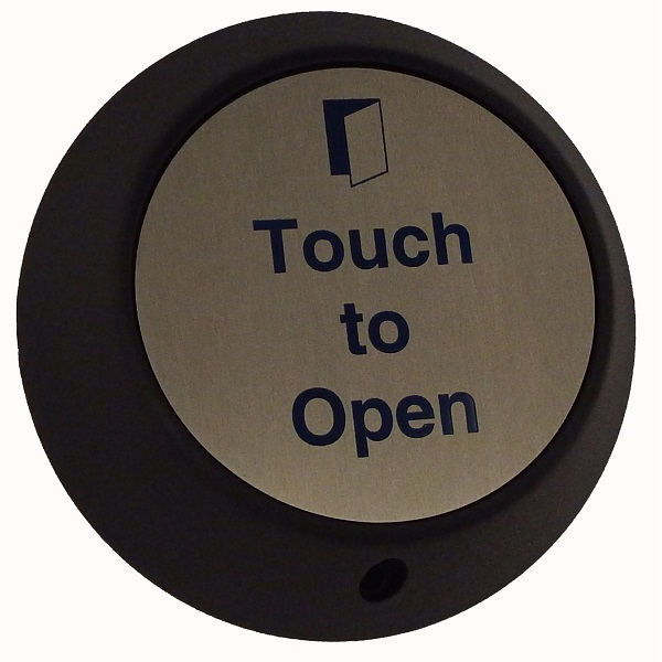 Wireless Round Touch Exit with Sounder