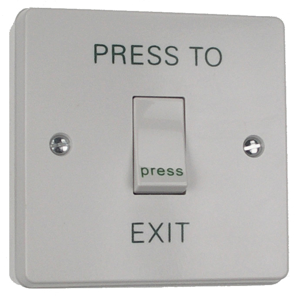 Plastic Exit Button / Single Request to Exit Door Entry Systems