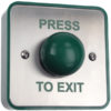 Flush Stainless Exit Button / Single Gang Exit Door Entry Systems