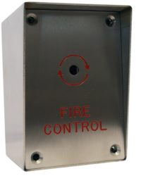 Surface Fire Switch Control Box Door Entry Systems