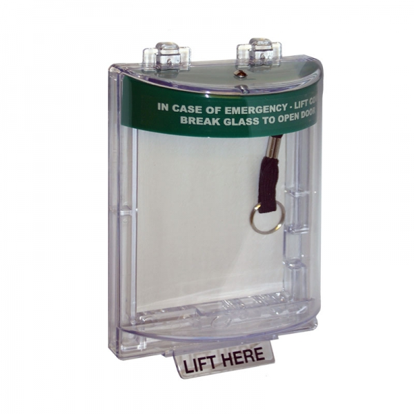 Internal Flush Mount Green Stopper with Alarm Door Entry Systems