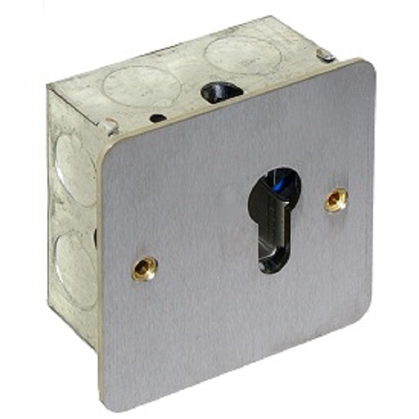 Euro Key switch – Momentary Door Entry Systems