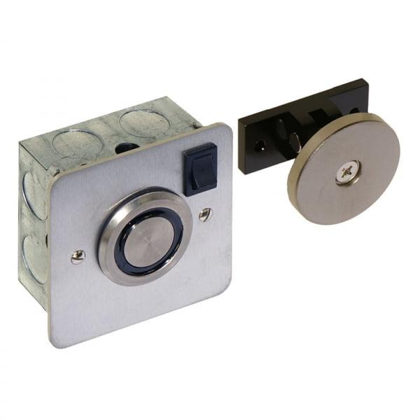Flush Fit Door Retainer – Door Hold Open Magnet Door Entry Systems