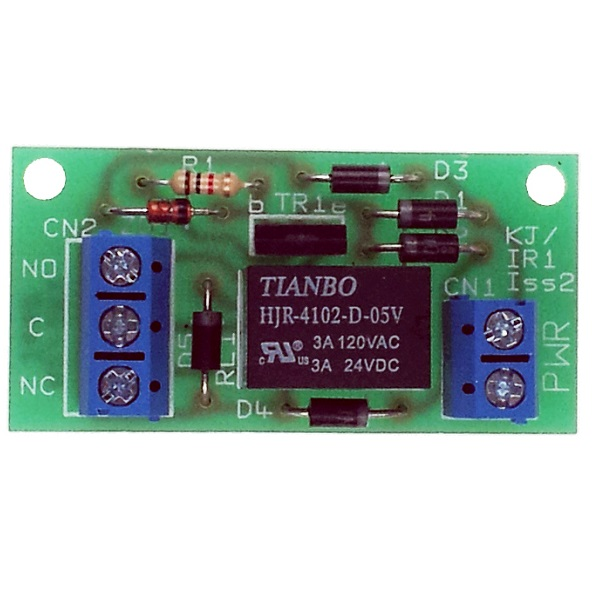 Single Pole Clean Contact Relay Board Door Entry Systems