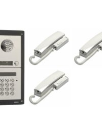 3 Button Door Entry Kit with Keypad - 3 Way Audio Entry