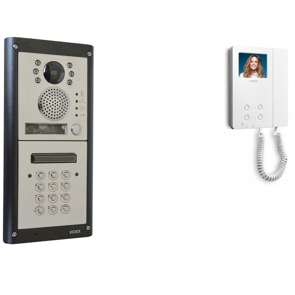 Video Door Entry with Keypad - 1 Button Video Door Entry