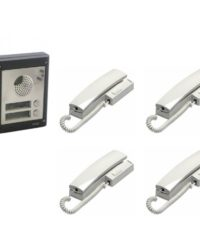 4 Way Videx Audio Door Entry Kit - 4 Button Surface Entry Kit