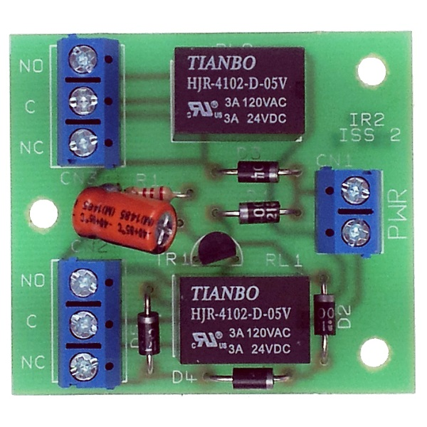 Double Pole Relay - Clean Contact Relay Board