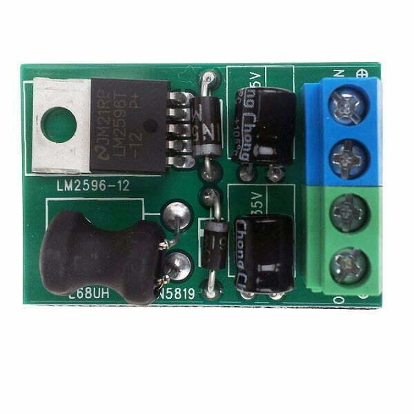 Voltage Reducing Module -24vdc – 12vdc Door Entry Systems