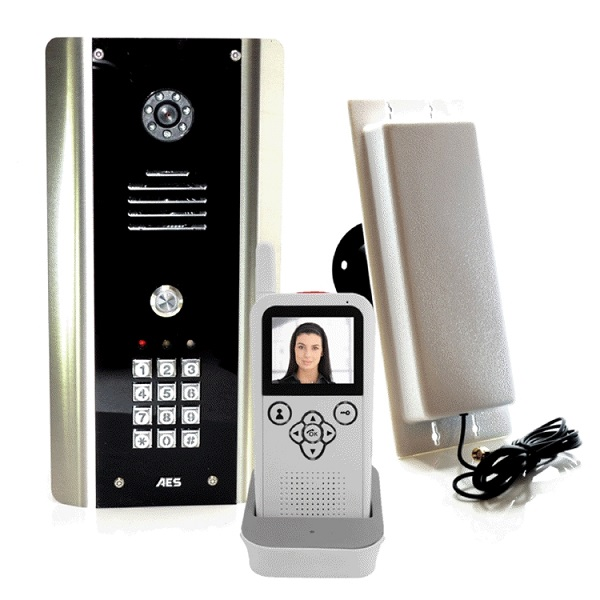 Colour Wireless Door Entry with Keypad Door Entry Systems
