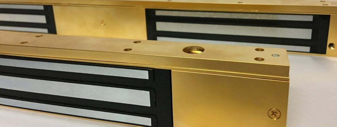 Brass Magnetic Locks
