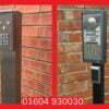 Dual Height Goose Neck Intercom Post Door Entry Systems