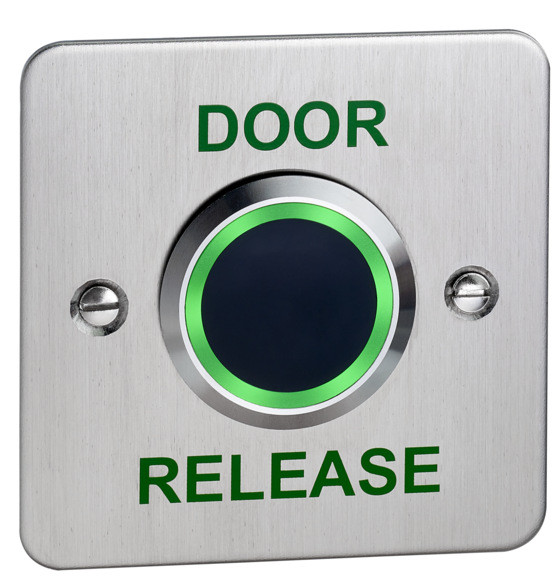 Touch free Exit Device With LED and Adjustable Timer and Proximity Door Entry Systems