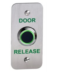 No Touch Exit Device Narrow With LED and Adjustable Timer and Proximity