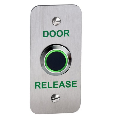 No Touch Exit Device Narrow With LED and Adjustable Timer and Proximity Door Entry Systems