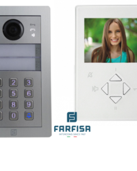 Farfisa DUO 1way Kit Alba c/w Rainhood, Keypad & Zhero Monitor Door Entry Systems