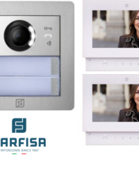 Farfisa Kit DUO 2way Alba Sette Monitor Door Entry Systems