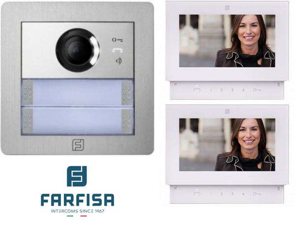 Farfisa Kit DUO 2way Alba Sette Monitor