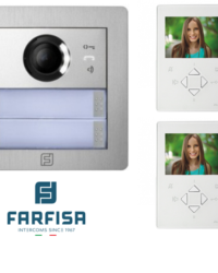 Farfisa DUO 2way Alba ZHero Video Kit Door Entry Systems