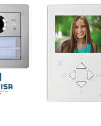 Farfisa DUO 1way Alba ZHero Surface Video Kit