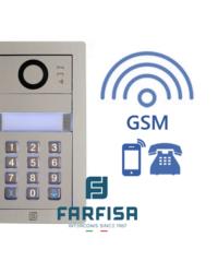 Farfisa DUO MYCOM 2button Alba Keypad GSM Audio Kit Door Entry Systems