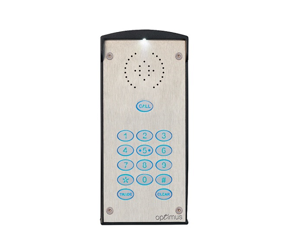Optimus 1 Button With Keypad GSM Entry Door Entry Systems