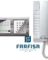 Farfisa 1 Button Keypad / 1 Handset Flush Audio Kit