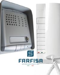 Farfisa 1 Button Profilo / 1 Handset Surface Audio Kit